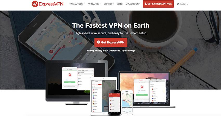ExpresssVPN Website