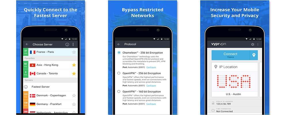 VyprVPN Android App