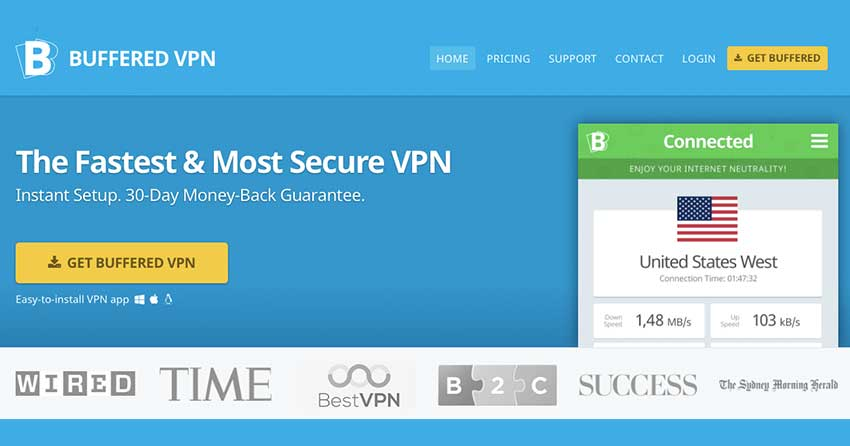 Buffered VPN Anonymous