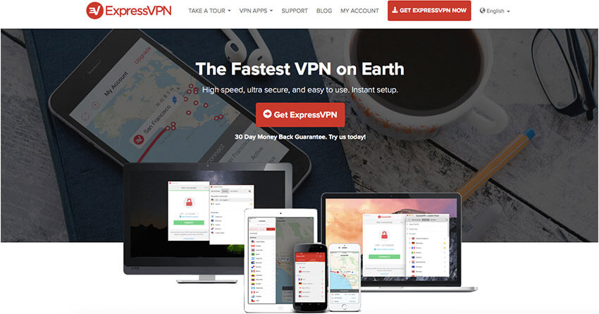 Express VPN for Colombia