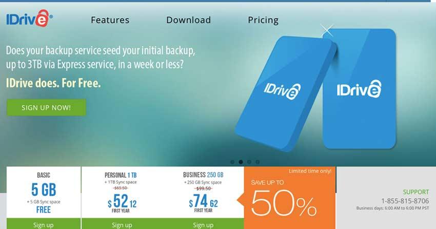 Idrive Free Online Backup