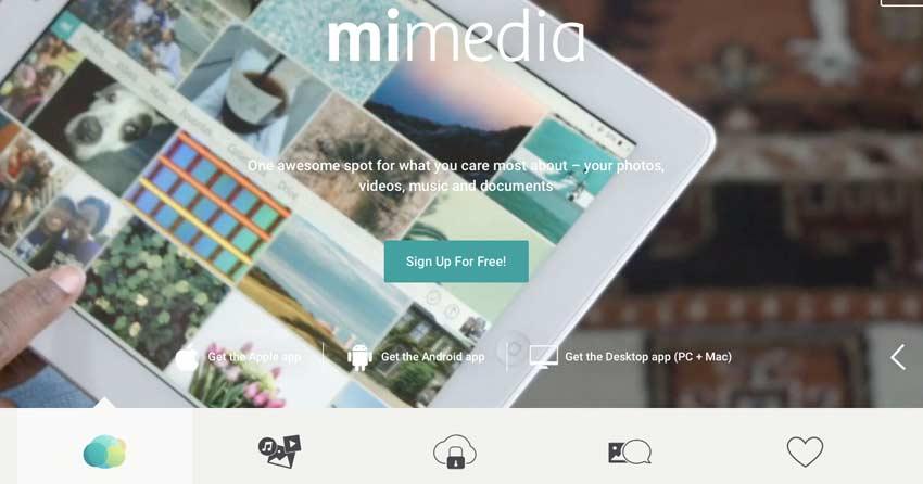 Mimedia Free Cloud Backup