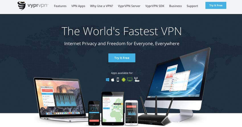 VyprVPN for Colombia