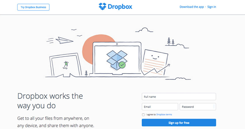 Dropbox for Photo Storage