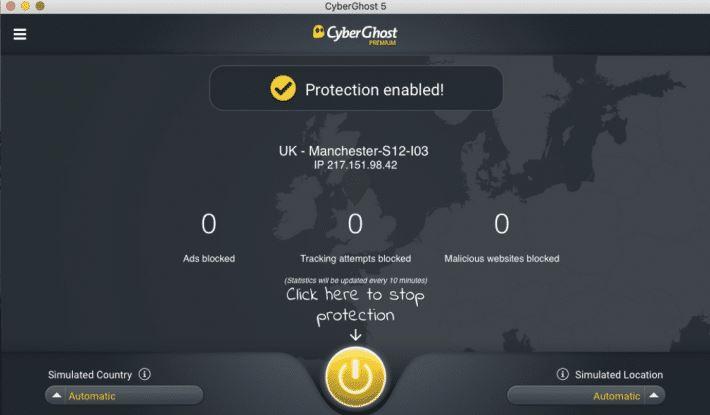 Cyberghost for Mac