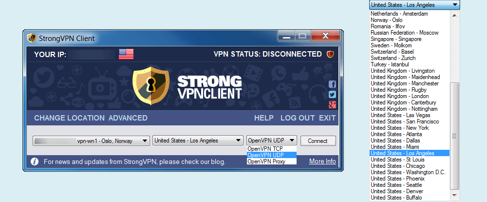 Strongvpn Windows Client
