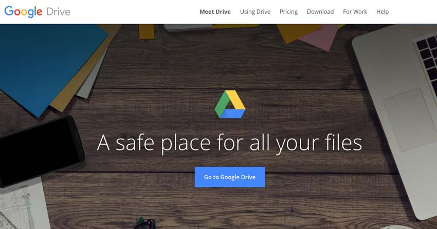 Google Drive for Online Photo Storage