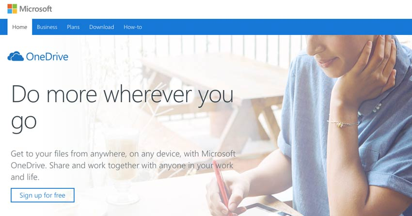 onedrive-website