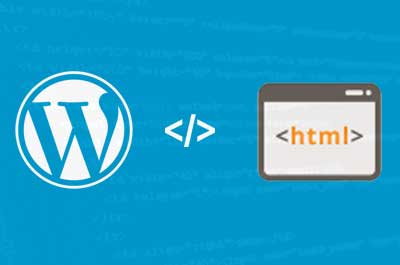 HTML vs. Wordpress