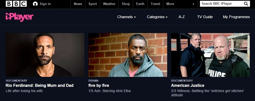 BBC-iPlayer-website