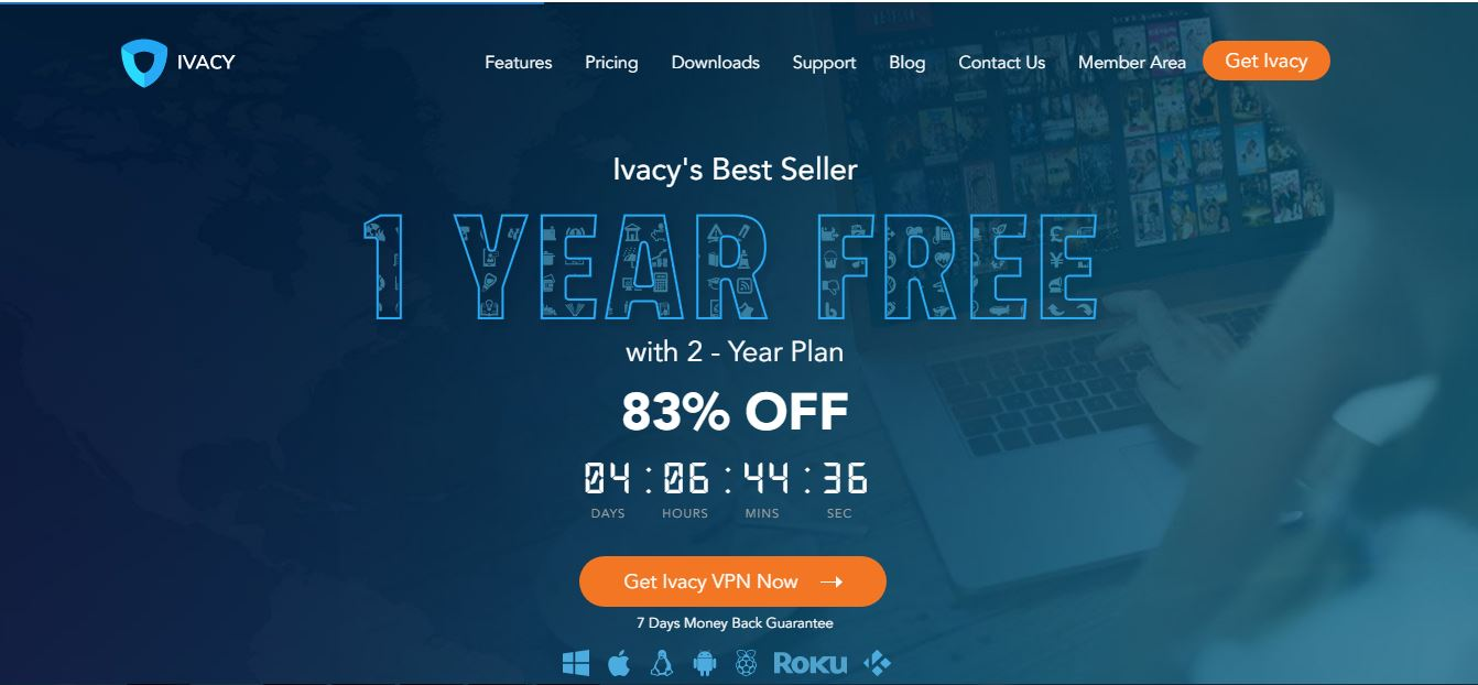 Ivacy Website