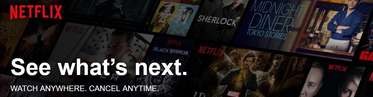 Netflix-website