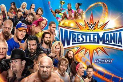 Stream WWE WrestleMania 33 Live