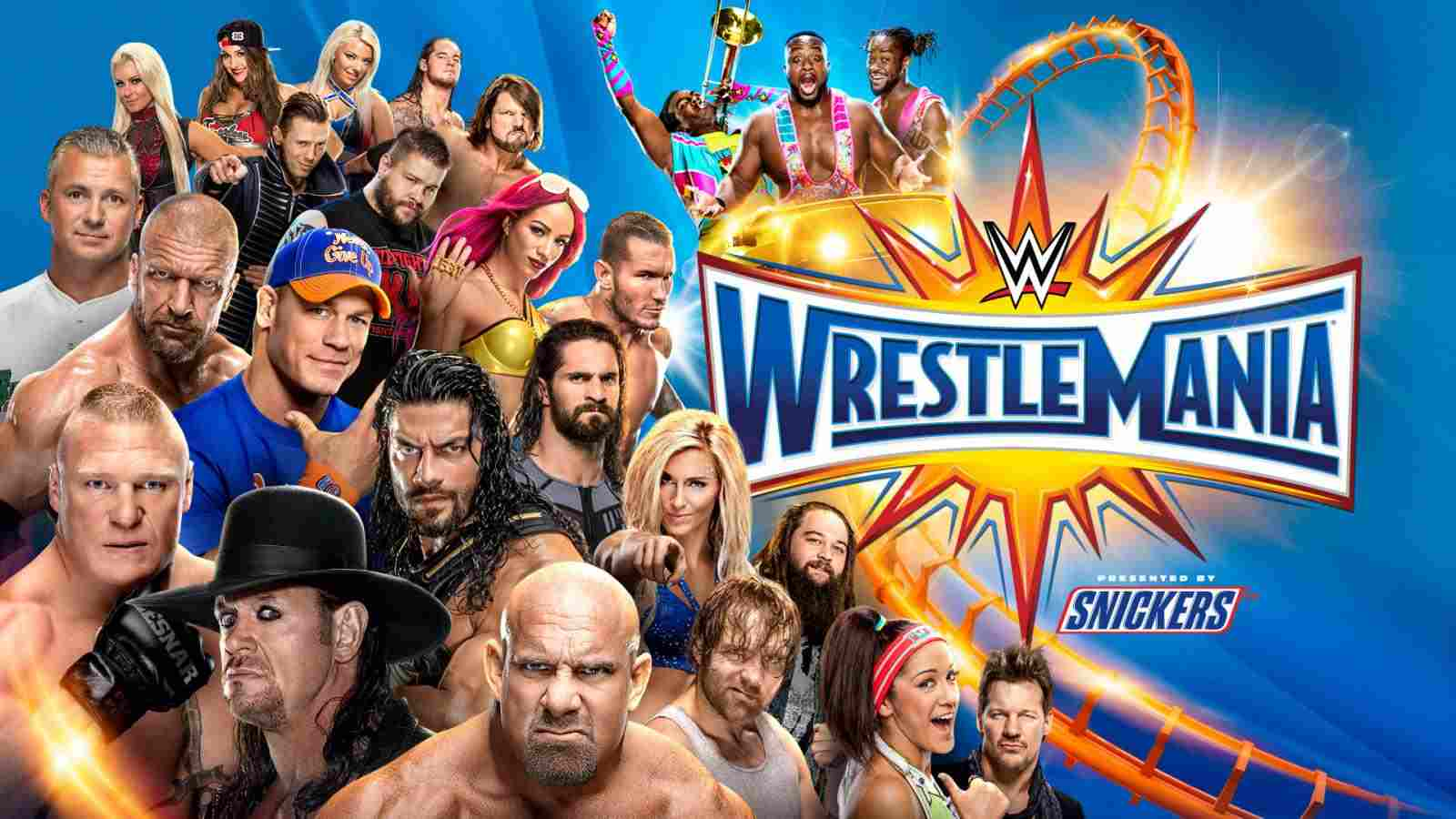 Stream WWE WrestleMania 33 Live