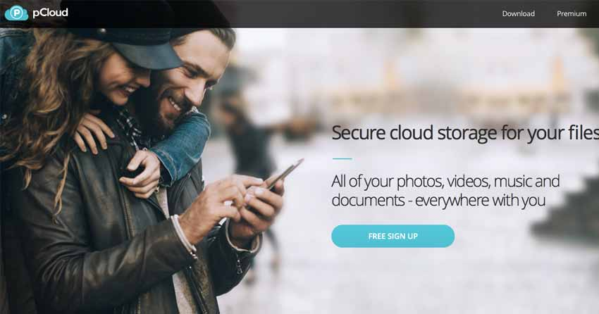 pcloud online storage for photos