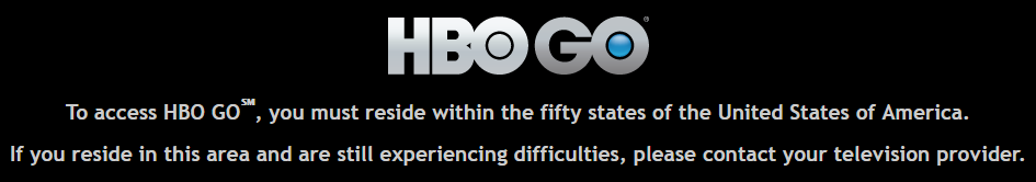 HBO Restrcition Error