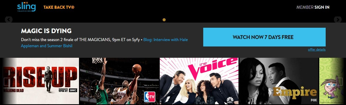 sling-TV-website
