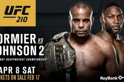 UFC 210 Cormier VS Johnson 2 Fight Live Streaming