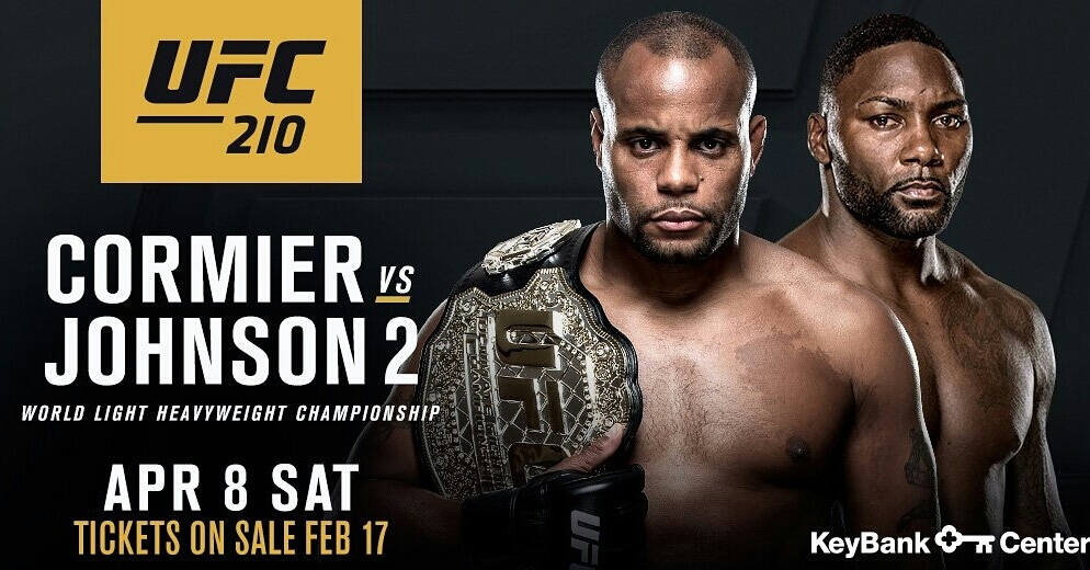 UFC 210 Cormier VS Johnson 2 Fight Live Online