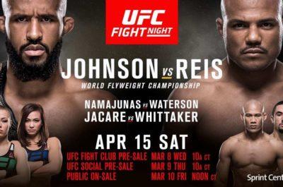 UFC On FOX 24- Johnson VS Reis Fight Live Online