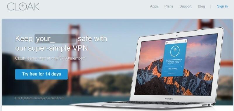 cloak-free-Mac-VPN