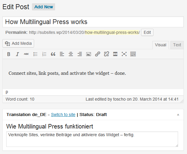 wordpress-multisite-multilingual-press