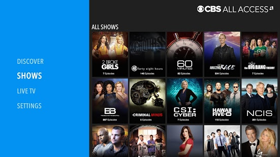 CBS Android App