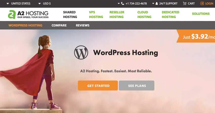 fastest hosting for wordpress