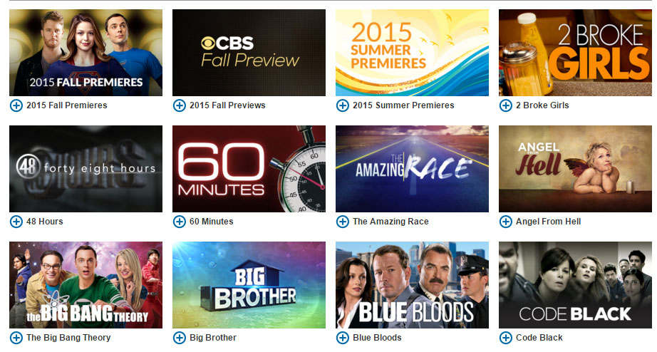 The Amazing CBS TV Shows Online