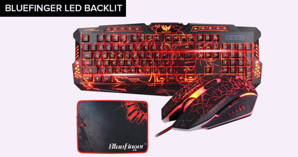 bluefinger gaming keyboard