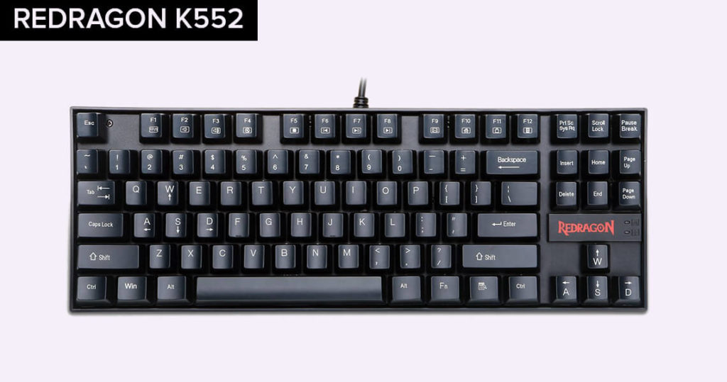 REDRAGON K552 gaming keyboard