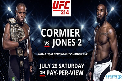 cormier vs jones 2 Live Online