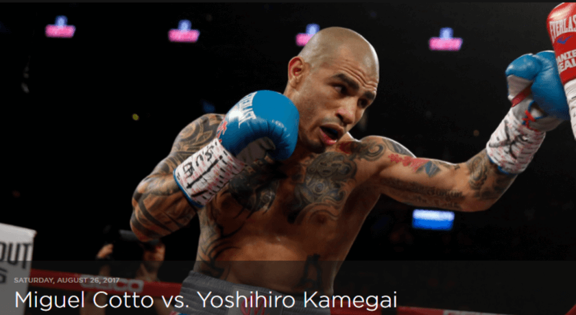 How to Watch Cotto vs. Kamegai