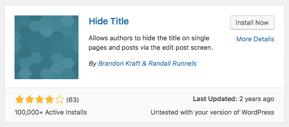 hide-page-title-wordpress