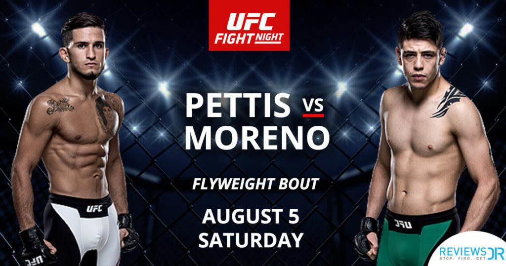 Pettis vs. Moreno Live Online