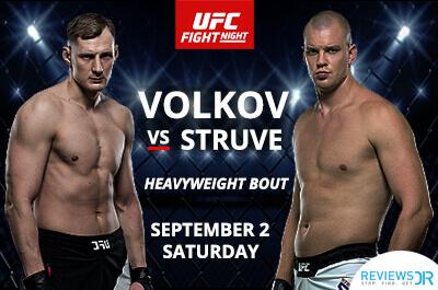 Volkov vs Struve UFC Live Online
