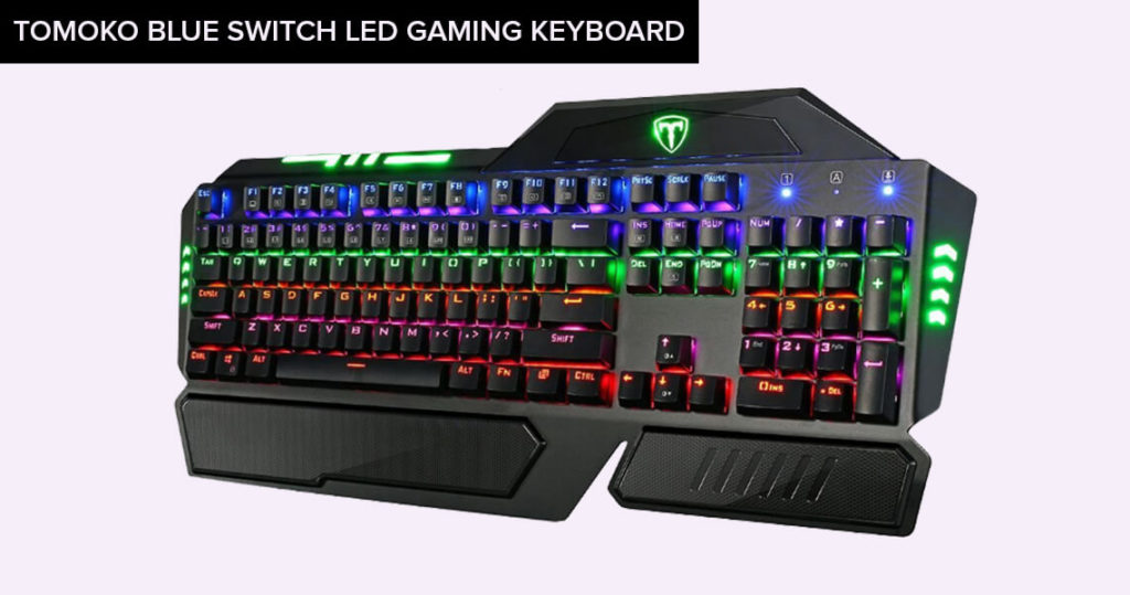 Tomoko-Blue-Switch-LED-Keyboard