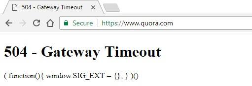 quora-gateway-error