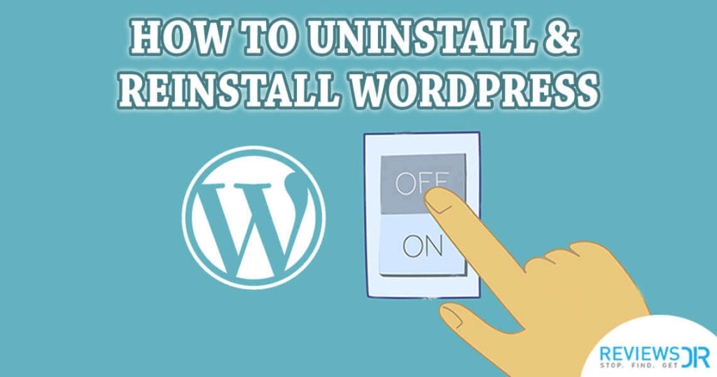 uninstall-wordpress