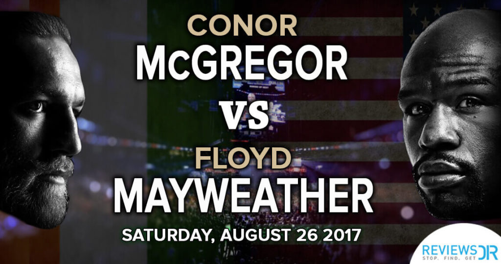 mcgregor vs mayweather online