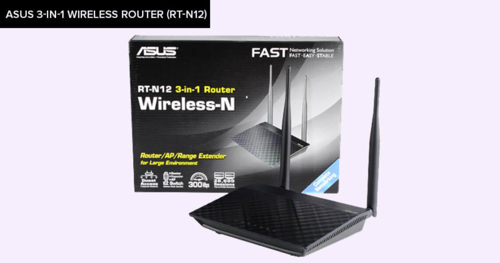 ASUS-3-in-1-Wireless-Router-(RT-N12)