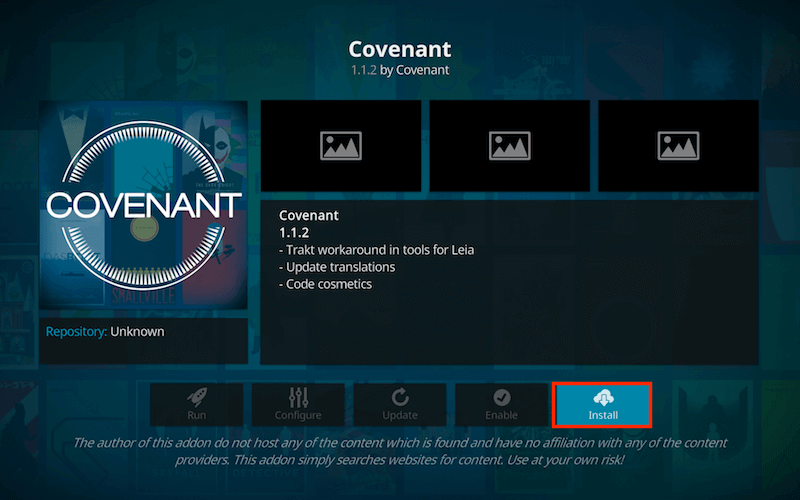 how to install exodus on kodi install covenant