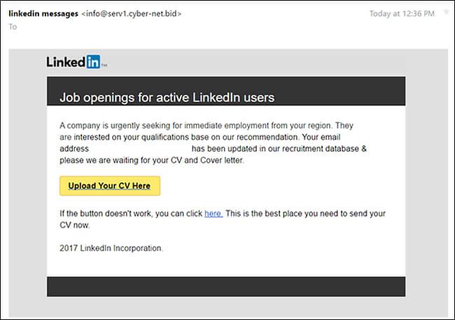 linkedin-scam-emails