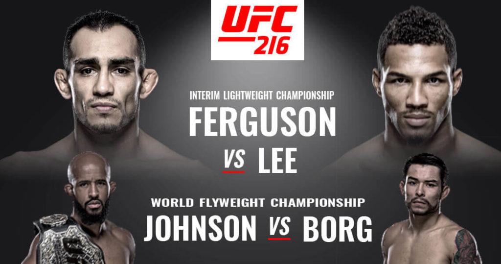 watch UFC 216 live online