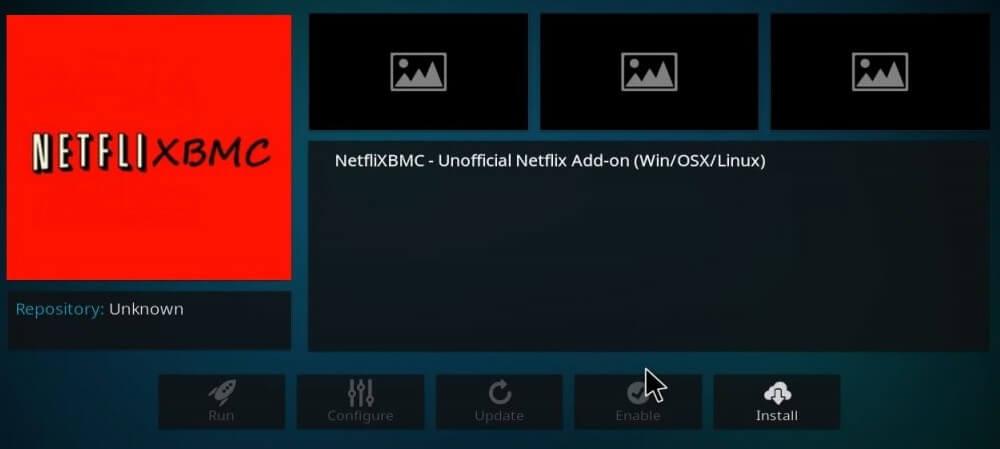 Install Netflix Addon Step 9