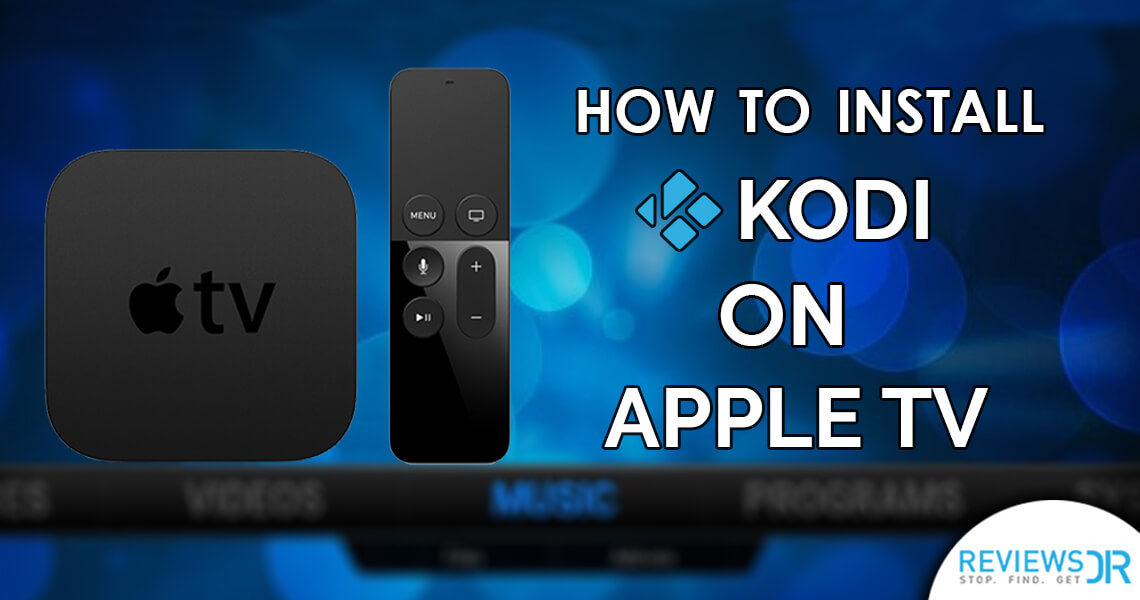 Install Kodi on Apple TV