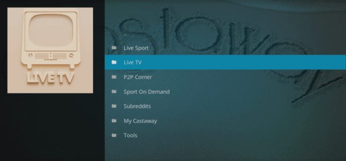 castaway-live-tv-addon