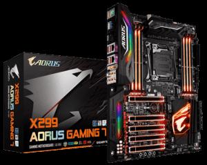 GIGABYTE X299 AORUS Gaming Motherboard