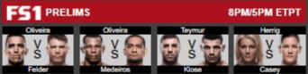 UFC 218 prelims