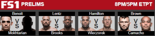 UFC fight night prelims